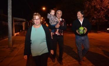 Sáenz: Los vecinos ven que las obras se hacen y eso les da confianza
