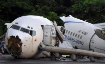 Se estrelló un avión con cinco personas a bordo en Venezuela