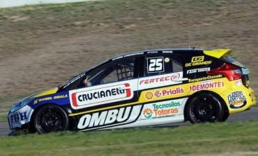 Julián Santero marcò el mejor tiempo de clasificación Clase 3 del Turismo Nacional