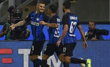 Mauro Icardi el goleador del Inter de Milán