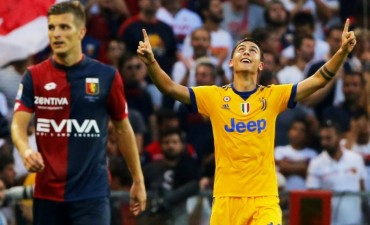 La Juventus se impuso con tripletes ante el Génova