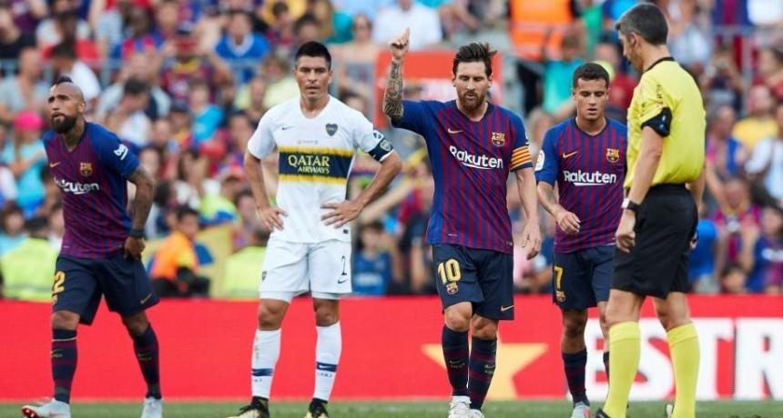 Barcelona goleó a Boca Juniors y se queda con el Trofeo Joan Gamper