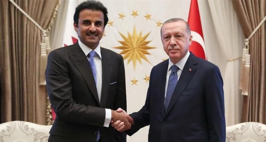 Turquía recibe u$s 15.000 M en bancos de Qatar