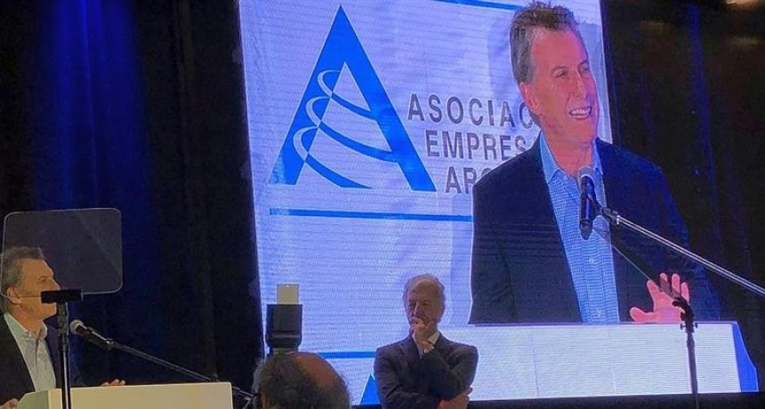 Macri:Ante un pedido indebido tienen un presidente para acudir