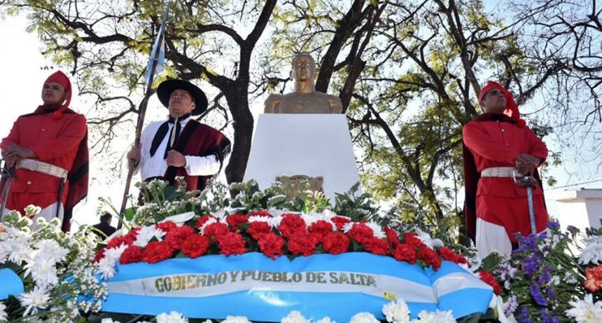 El homenaje a San Martín se realizan en Cerrillos