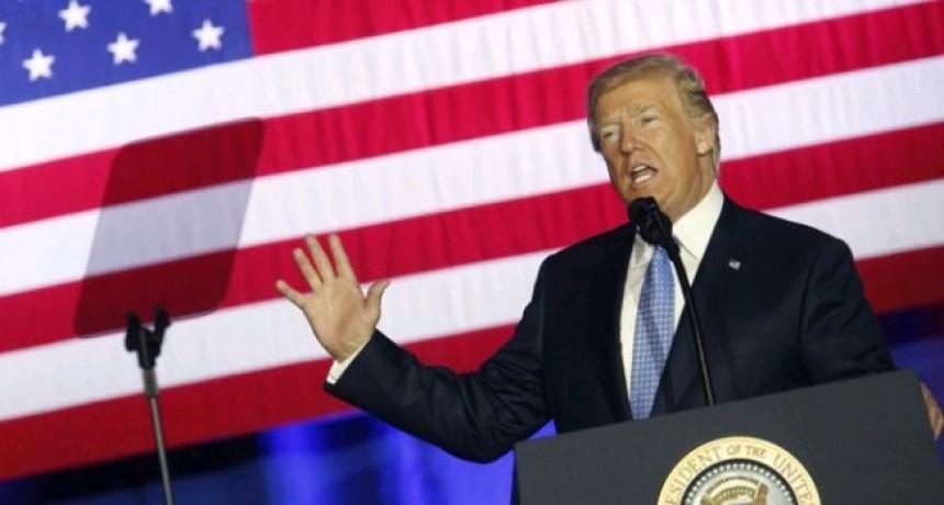 Trump asegura que estamos reduciendo a Turquía