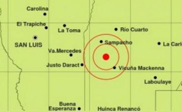 Córdoba: Un sismo sacudió esta madrugada el sur  de la provincia