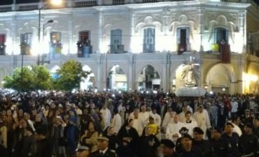 Mas de 900 fieles en la Virgen del Milagro en Salta