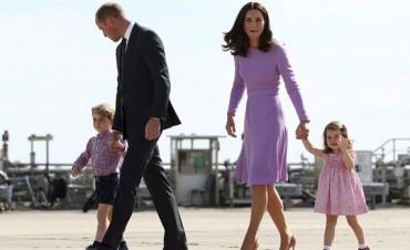 Guillermo y Kate Middleton esperan su tercer hijo