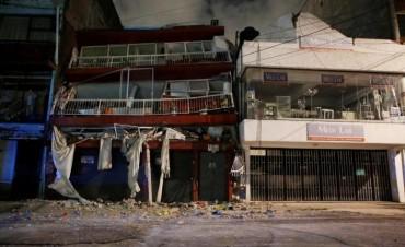 México volvió a temblar: sismo de 6.2º causó pánico y detuvieron las tareas de rescate