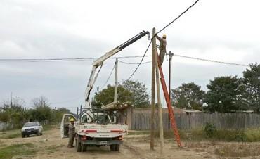 Hoy inaugurarán obras de electrificación en General Pizarro