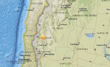 Un sismo de 5.3º de magnitud estremeció San Juan y repercutió en Mendoza