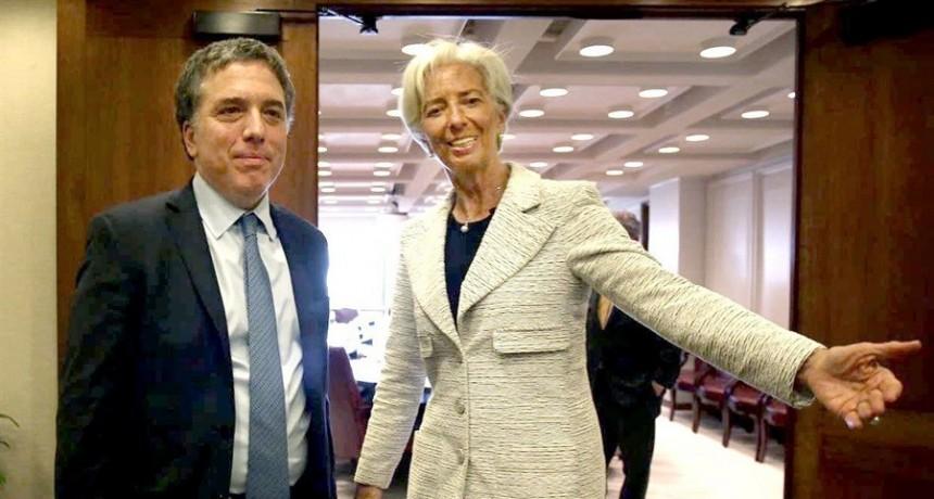 El FMI ampliaría el crédito unos U$S 5.000 millones