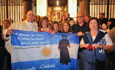 Vigilia con gusto argentino en Roma por la canonización del cura Brochero