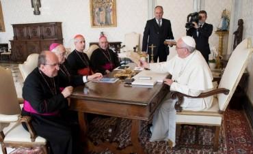 El Papa recibió a la cúpula del episcopado para hablar de la realidad social argentina