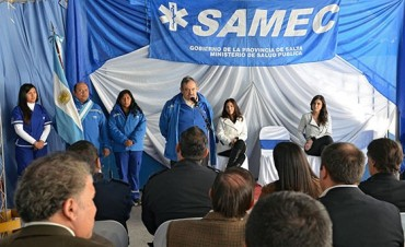 La Provincia construirá un nuevo edificio para el SAMEC