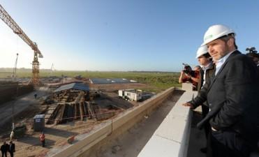 Avanzan la construcción de una nueva planta de efluentes en Mar del Plata