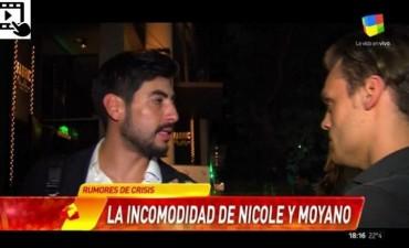 Facundo Moyano cuando le preguntaron si està enamorado de Nicole