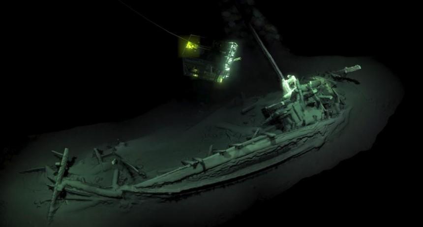 Encuentran el naufragio más antiguo del mundo