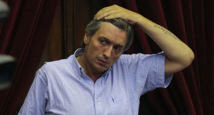 Máximo Kirchner declaró en Comodoro Py