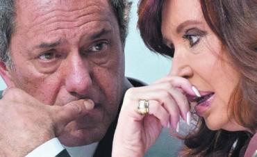 Scioli se reunió con Cristina para analizar la derrota K