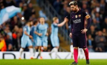 El gol de Messi no sirvió y Barcelona perdió con el City de Guardiola