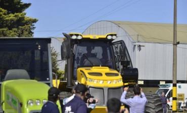 Macri:La cosecha récord de 2017 permitirá más crecimiento