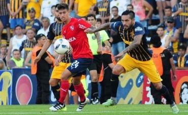 Independiente se volvió de Rosario con un punto