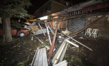 Un tornado en Roma causa miedo, destrozos y un muerto