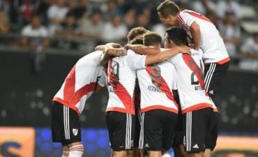 River-Olimpia: un Millonario alternativo goleó 5-1 en un amistoso en La Plata