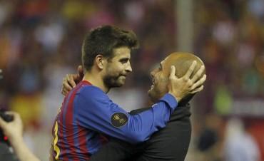 Guardiola: ¿Piqué presidente del Barcelona? Yo le votaré