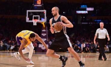 Triunfo de San Antonio ante los Lakers