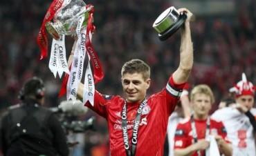Se despide Gerrard, el mítico capitán del Liverpool