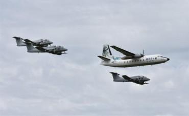 Despidieron a los Fokker F-27, los aviones que estuvieron al servicio del país por más de 40 años
