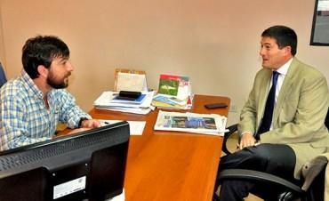 Costello se reunió con el nuevo delegado Regional del Ministerio de Trabajo de la Nación