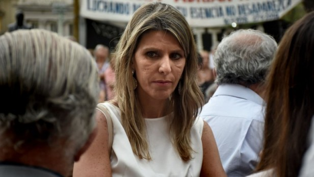 Abogada Sandra Nisman esposa del fiscal Alberto nisman