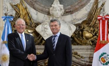 Macri recibiò al presidente de Perú
