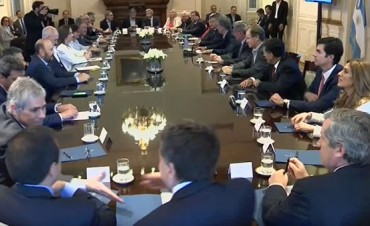 Urtubey :Ha sido muy positiva la reunión de los gobernadores con el Presidente