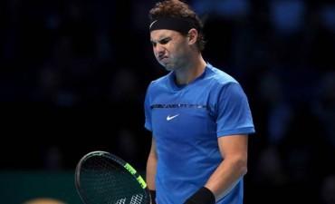 Rafael Nadal perdió con Goffin y se retiró del torneo
