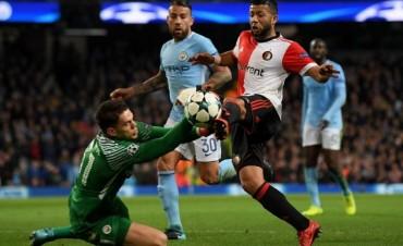 El Manchester City del Kun Agüero ganó sobre la hora y sigue de racha