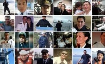 Estos son los tripulantes del submarino ARA San Juan