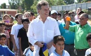 Mauricio Macri en Oran