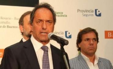 Scioli resaltó el rol del agro: