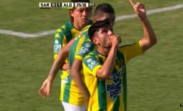 Aldosivi se impuso a Sarmiento en Junín en un partido clave por los promedios