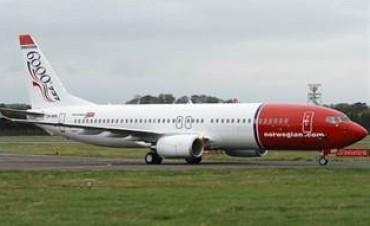Se oficializó la concesión de 152 rutas a Norwegian Air Argentina