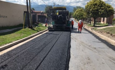 Avanzan las obras en calles de la zona del Grand Bourg