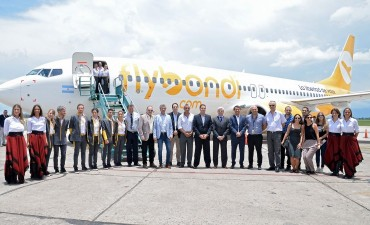 Buenas perspectivas para la industria turística llego Flybondi