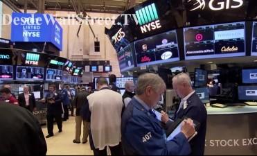 Wall Street y Apple cotizan con caídas en la resaca navideña