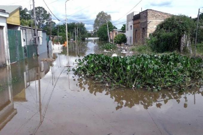 Bajó seis centímetros el río Uruguay en Concordia