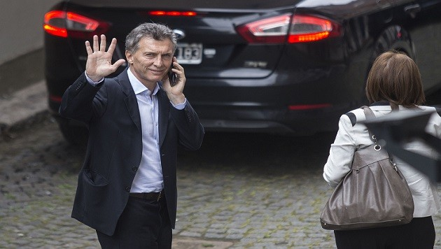 Macri se realizó un control en el hospital Fernández por la fisura en una de sus costillas